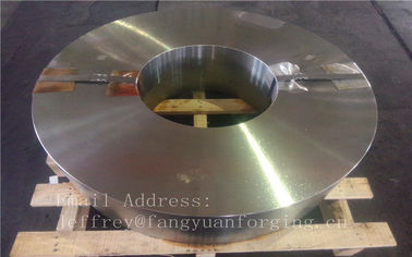 Cina Hot Forged Aloy baja Forged Wheel Kosong Rough machined Tinggi Toleransi pabrik