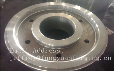 Baja Paduan Karbon Spiral Gear Helical Internal Skewed Tooth Forged Gear Blanks EN JIS GB ASTM BS DIN